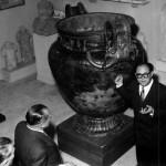 Janvier 1953, découverte du fameux vase de Vix dans une tombe princière
