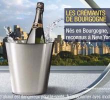 Les Crémants de Bourgogne s'affichent