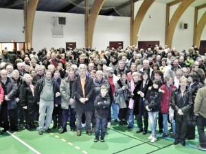 Plus de 600 bénévoles ont oeuvrés